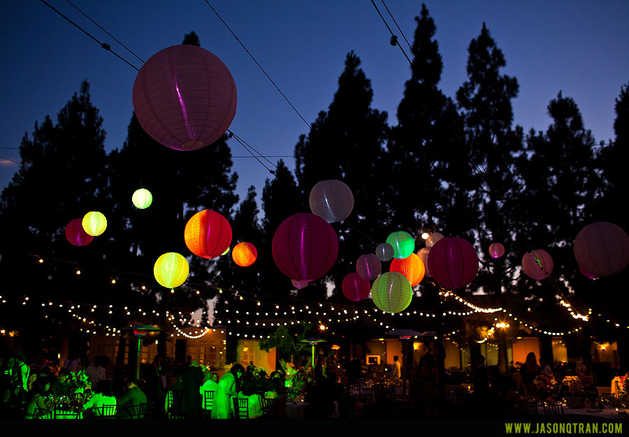 Outdoor Wedding Lighting