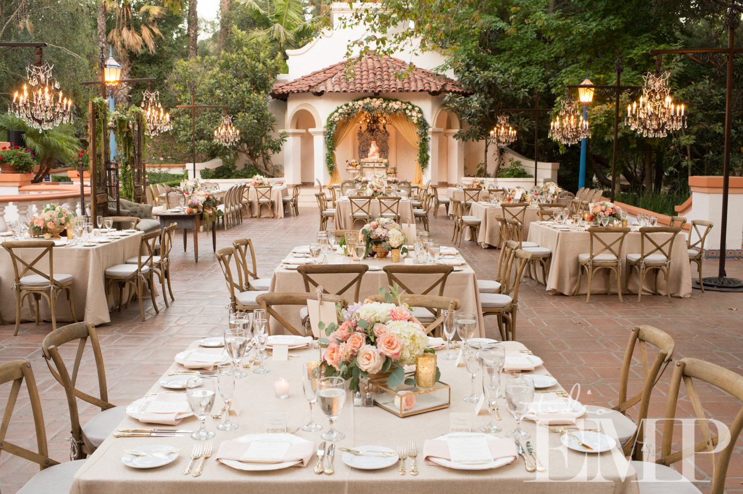 Wedded wednesday featured wedding michella alejandro - Decoraciones de bodas ...